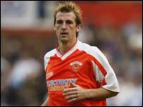 Paul Dalglish spent the latter part of 2002-03 on loan to Scunthorpe