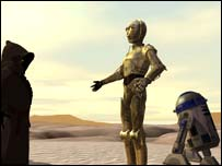 Screenshot from Star Wars Galaxies, Lucas Arts