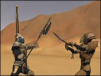 Screenshot of Star Wars Galaxies, Lucas Arts