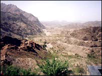 Afghan-Pakistan border near the Khyber Pass