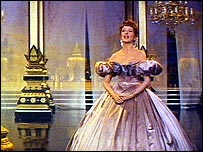 As Anna in The King and I