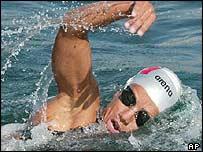 Italian distance swimmer Viola Valli