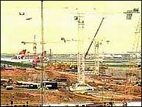 Terminal 5 building site