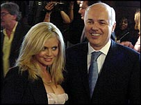 Iain Duncan Smith with Danniella Westbrook