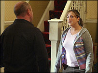 Phil and Sonia in EastEnders