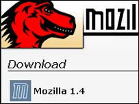 Screengrab of Mozilla Foundation homepage