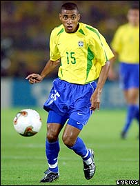 Kleberson of Brazil