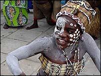 Dancers in Kinshasa