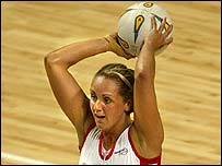 England's Tracey Neville