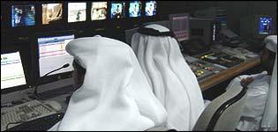 Al-Jazeera newsroom