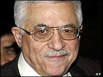 PLO chief Mahmoud Abbas