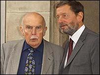 Prof Crick and David Blunkett unveil the plans