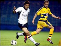 Fulham's Japanese midfielder Junichi Inamoto