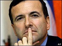 Franco Frattini, ministro de Relaciones Exteriores de Italia