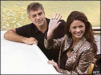 Catherine Zeta Jones and George Clooney