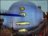 Selfridges at Birmingham's new Bullring