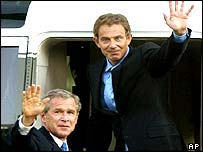 President Bush and Prime Minister Blair