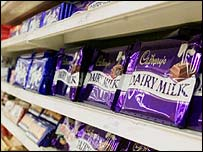 Cadbury's chocolate