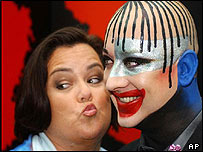 Rosie O'Donnell and Boy George