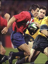 Christain Sauan of Romania against Australia in 1999