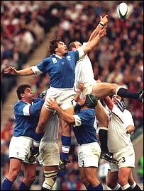 Italy v England 1999