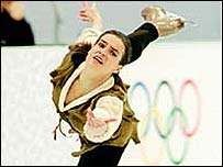 Katarina Witt at the Olympics
