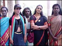 Priya Babu, second from right
