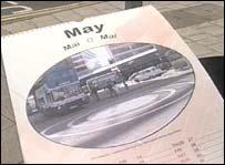 Swindon's roundabout calendar