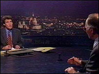 Jeremy Paxman and Michael Howard on Newsnight