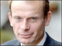 Political editor Andrew Marr