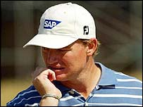 South Africa's Ernie Els