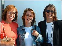 Alison Wood, Ruth Wood and Vanessa Jones