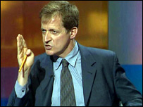 Downing Street communications director Alastair Campbell