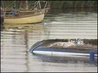 The upturned boat