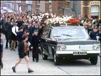 Murdered boy's funeral