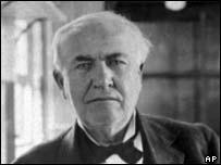 The inventor Thomas A Edison