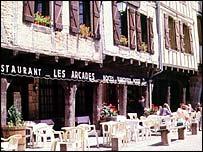 Restaurant in France