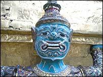 Statue in Bangkok's Grand Palace