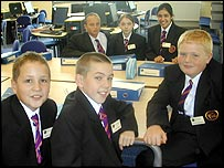 Year 7 children