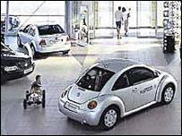 Exposición de VW