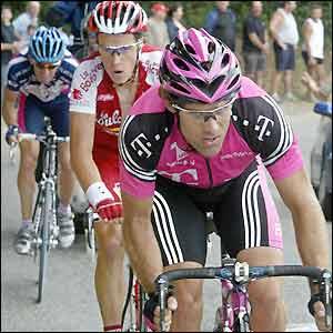 Colombian Santiago Botero leads France's Sylvain Chavanel