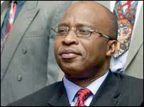 Zambian vice president Nevers Mumba