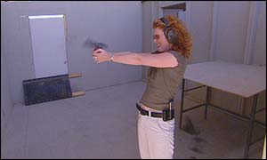 Vanessa Collingridge at Gunsite Training Academy