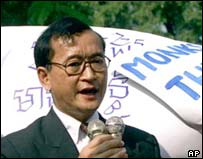 Sam Rainsy - archive picture