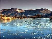 Remote Patagonian shore   TVE