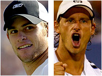Andy Roddick faces David Nalbandian