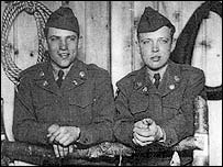 Vince (left) and Richard Krepps at Fort Lewis