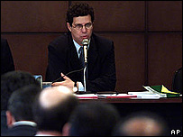 Claudio Balduino Maciel, presidente de la Asociaci�n de los Magistrados Brasile�os.