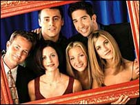 Le Blanc (top left) plays Joey Tribbiani