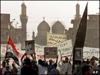 Anti-US protest, Baghdad